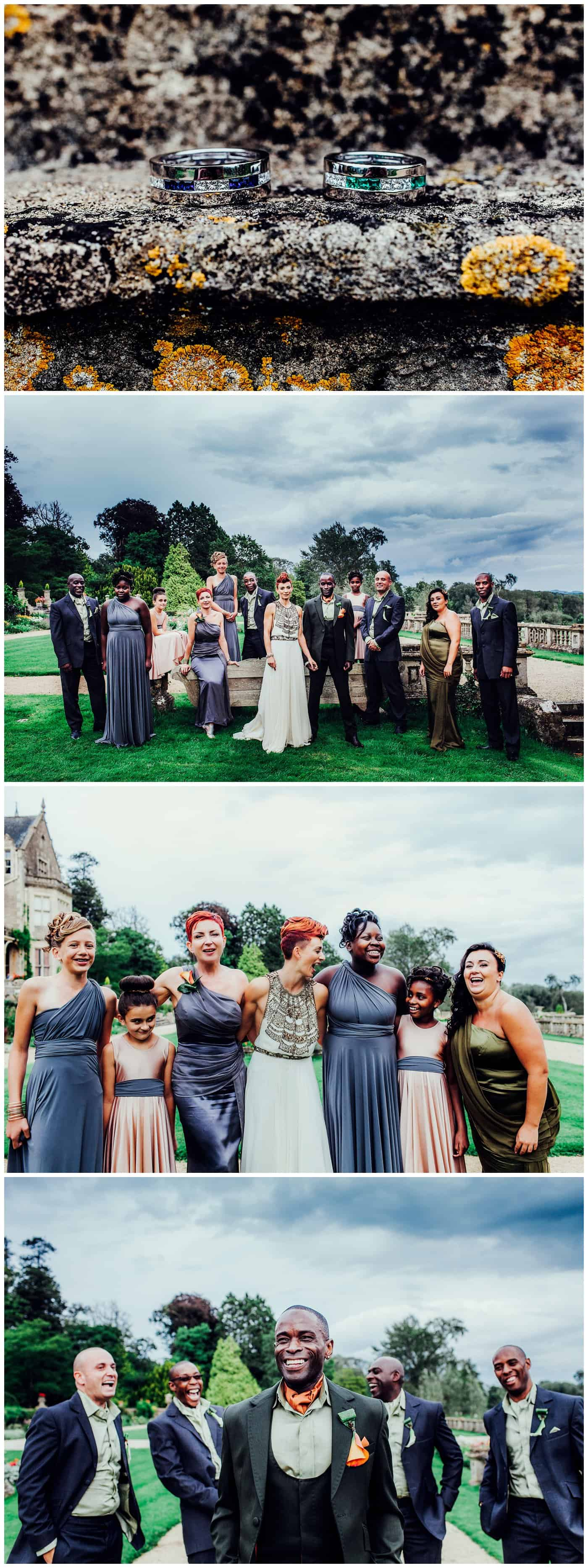 orchardleigh house wedding photos